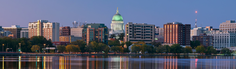 Madison at twilight