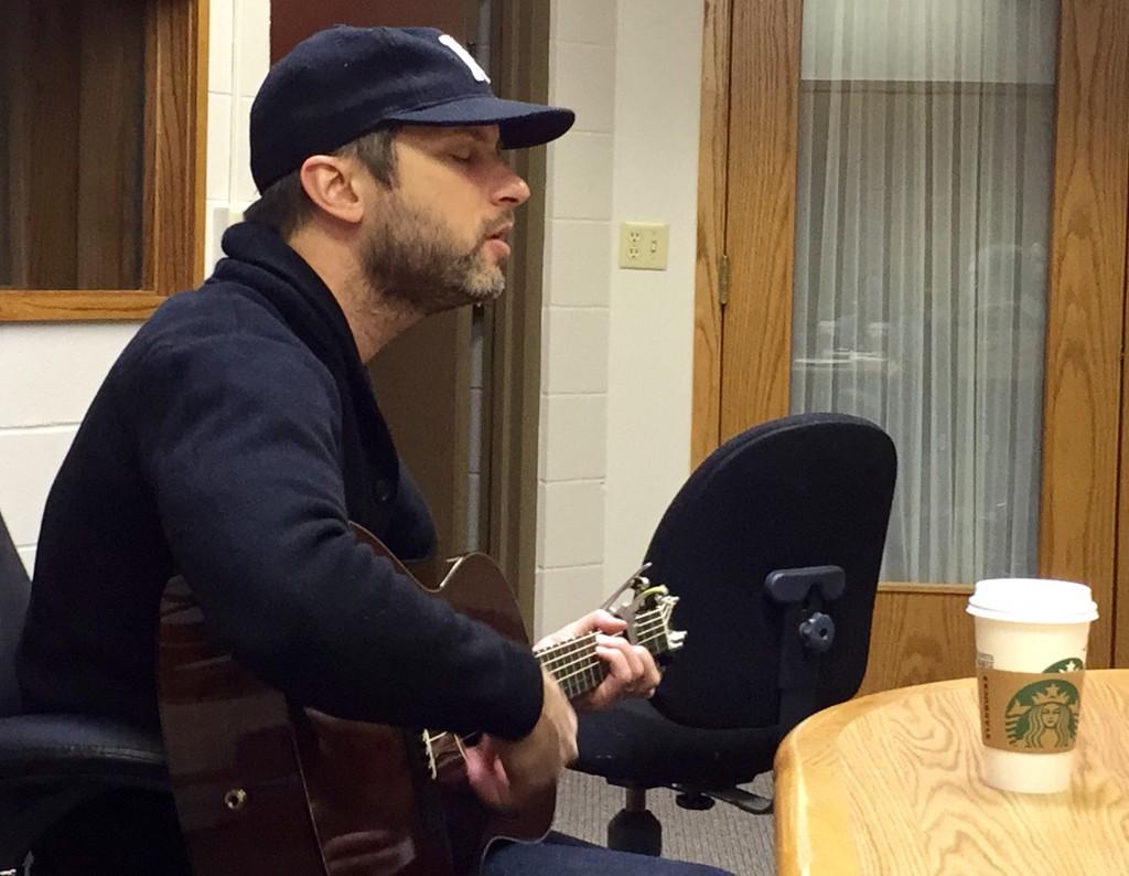 Brandon Heath Singing
