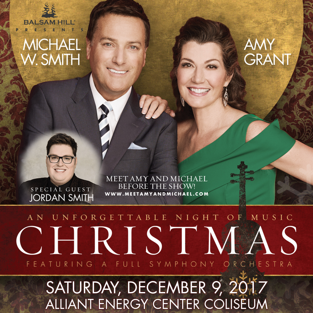 Christmas with Michael W Smith and Amy Grant | LIFE 102.5 LIFE 102.5