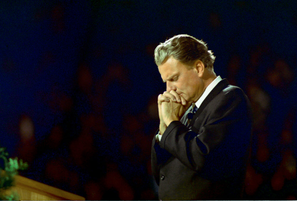 Billy Graham Praying