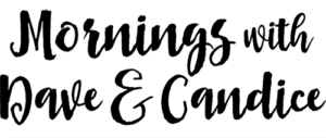 Mornings with Dave & Candice logo