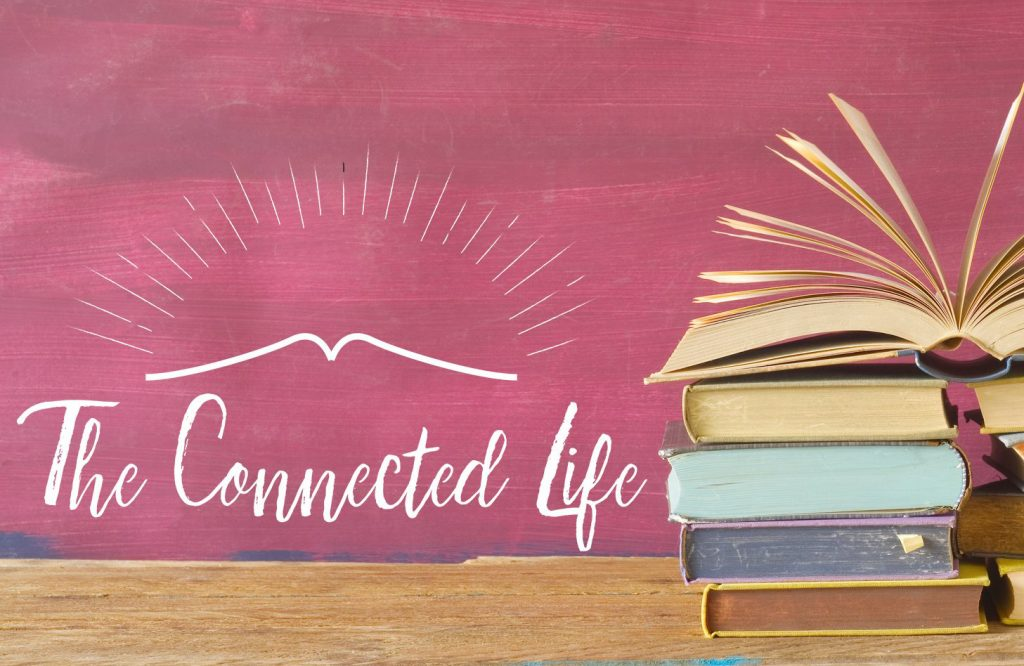 Connected Life logo with books originally istock license image