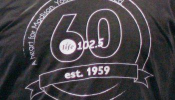 Life 102.5 60th anniversary shirt