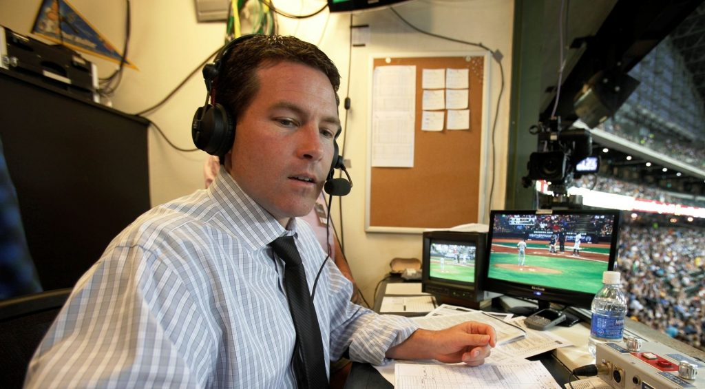 Brian Anderson in booth